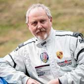 Mark Cowne books track day events with Goldtrack