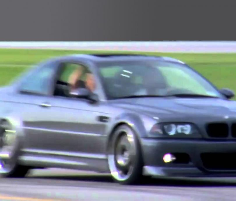 Track Day Racing with Gold Track in a BMW M3