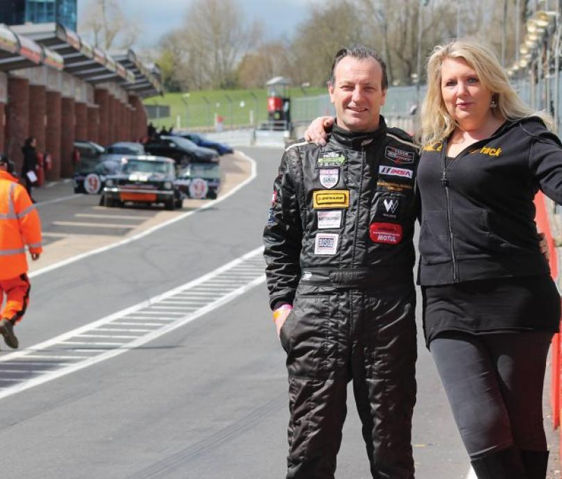 Melindi and Calum Lockie - Race track day organisers